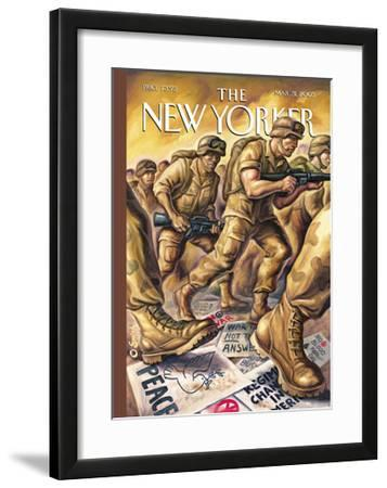 The New Yorker Cover - March 31, 2003