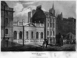 St Paul's School, City of London, 1814 by Owen
