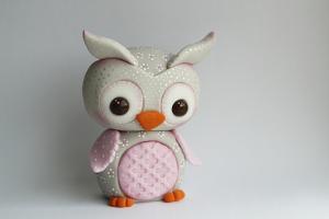 Owl Baby Pink Barn Owl