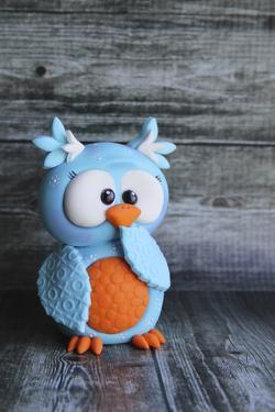 Owl Blue Ooops