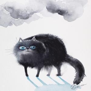 Black Cat 3 by Oxana Zaika