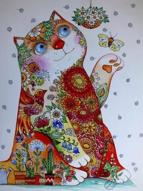 Bucolic Cat by Oxana Zaika