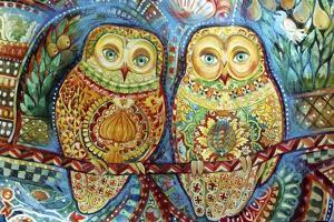 Byzantine Owls by Oxana Zaika