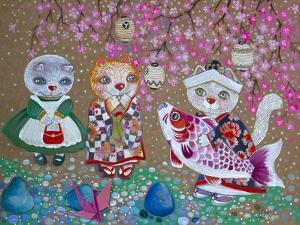 Fleurs de Cerisier by Oxana Zaika