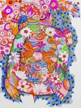 Happy Magic Turtle by Oxana Zaika