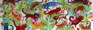 Magic Cats by Oxana Zaika