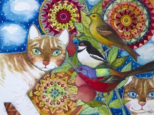Mandala Cats by Oxana Zaika