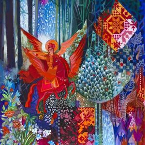Saint Michael the Archangel by Oxana Zaika