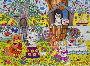 Summer for Cats by Oxana Zaika