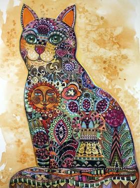 Sun Cat by Oxana Zaika