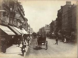 Oxford Street, London, C.1885