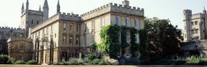Oxford University, New College, England, United Kingdom