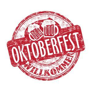 Oktoberfest Grunge Rubber Stamp by oxlock
