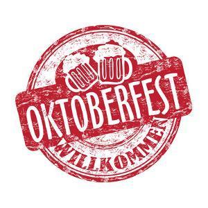 Oktoberfest Grunge Rubber Stamp by oxlock