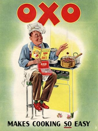 OXO, Chefs Cooking, UK, 1950