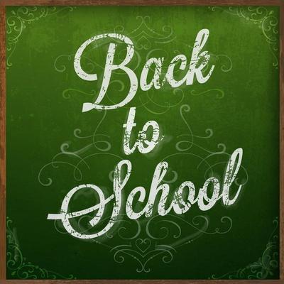 Back to School, Chalk Blackboard