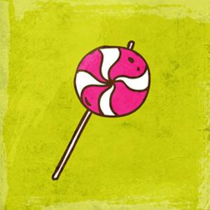 Spiral Lollipop Sweet Candy by Ozerina Anna