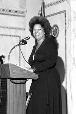 Toni Morrison, 1977 by Ozier Muhammad