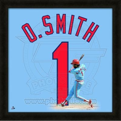 Ozzie Smith, Cardinals representation of the player's jersey