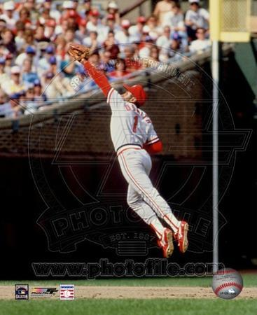 Ozzie Smith Fielding Action
