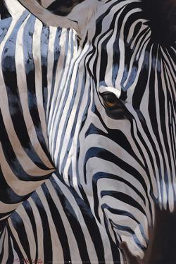 Zebra Stripes by P. Charles