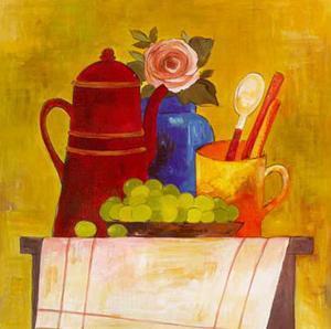 Breakfast Arrangements IV by P. Clement