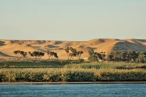 Desert; Jebel Silsil, Palm, Edge of Nil by P. Eoche