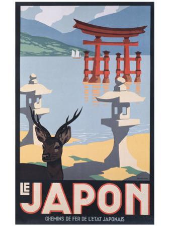Le Japon by P. Erwin Brown