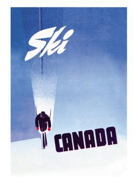 Ski Canada by P. Ewart