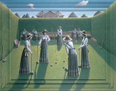 Croquet by P.J. Crook
