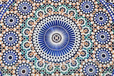 Oriental Mosaic In Morocco by p.lange