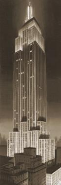 Empire State Building by P^ Moss