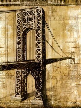 George Washington Bridge by P^ Moss
