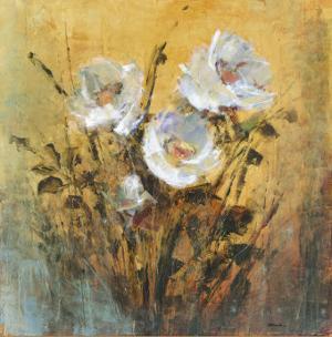 Floral Spray I by P. Patrick