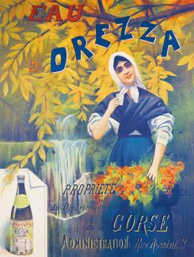 Eau d'Orezza by P. Ribera