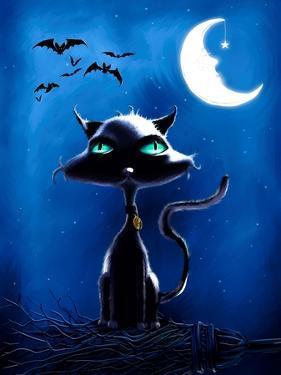 Black Cat by P.S. Art