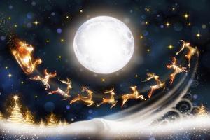 Santa is Coming by P.S. Art