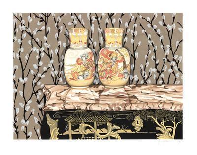 Satsuma Vases by P.S. Gordon