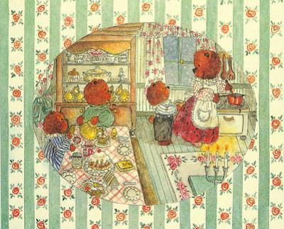 Teddy Bears at Home IV