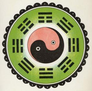Pa-Koa Symbol Incorporating the Ying and Yang