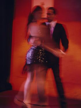 A Couple Dancing the Tango by Pablo Corral Vega