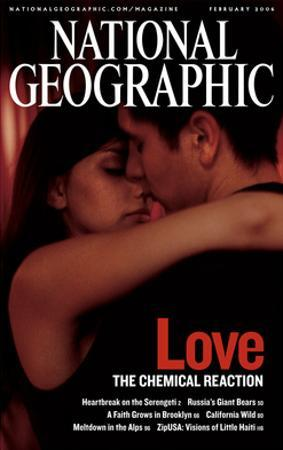 Cover of the February, 2006 National Geographic Magazine