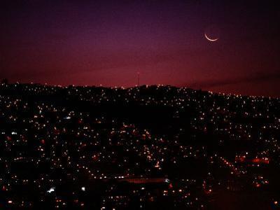 Night View of Valparaiso