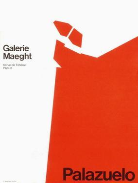 Expo 70 - Galerie Maeght by Pablo Palazuelo