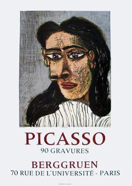 90 Gravures at Berggruen by Pablo Picasso