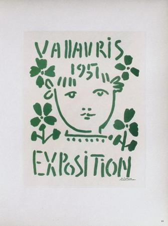 AF 1951 - Exposition Vallauris by Pablo Picasso