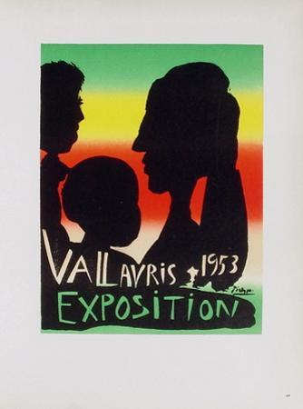 AF 1953 - Exposition Vallauris by Pablo Picasso