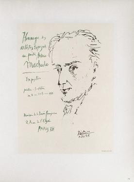 AF 1955 - Hommage à Machado by Pablo Picasso