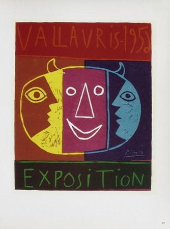 AF 1956 - Exposition Vallauris by Pablo Picasso