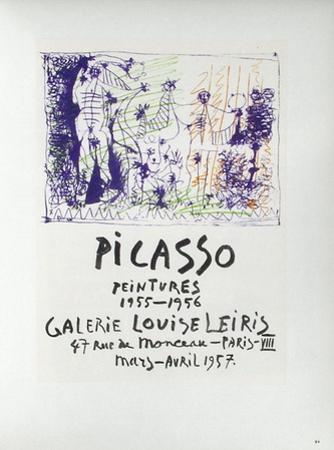 AF 1957 - Galerie Louise Leiris by Pablo Picasso